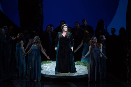 Angela Meade in the title role of Bellini's Norma