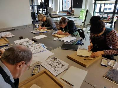 Advanced Japanese Woodblock Printing - Dundee Contemporary Arts