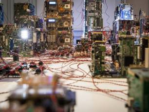 Image for NEoN at Centrespace: The Nemesis Machine}