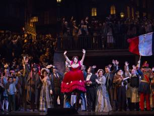 Image for Live from the Met: La Bohème}