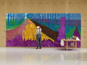 Image for Exhibition on Screen: David Hockney at the Royal Academy of Arts}