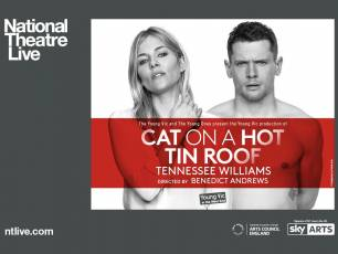 Image for NT Live: Cat on a Hot Tin Roof}