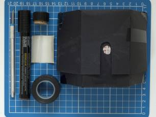 Image for Fold-your-own pinhole camera}