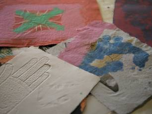 Image for Papermaking with Plant Fibres}