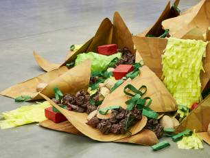 Image for Family Art Lab: Create a shonky sculpture of your favourite meal}