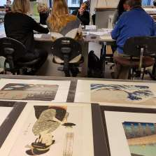 Image for Advanced Japanese Woodblock Printing