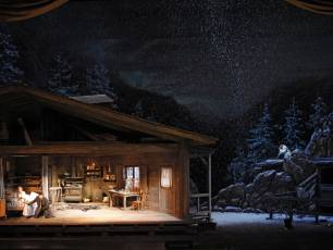 Image for Live from the Met: La Fanciulla del West}