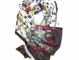 Image for Craft Sunday: Hand printed textiles with Helen Ruth Scarves}