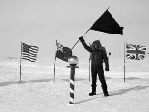Image for The White Flag of Antarctica: The Fabric of a Nation}
