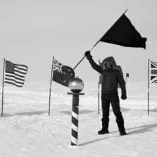 Image for The White Flag of Antarctica: The Fabric of a Nation