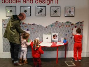 Image for Family Art Lab for Under 5s: Mike Kelley & Santiago Sierra}