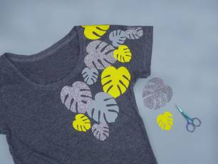 Image for Craft Sunday: Custom Vinyl Tees with Syrah Jay}