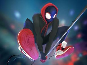 Image for Relaxed: Spider-Man Into the Spider-Verse}