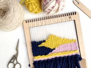 Image for Craft Sunday: Coastal Weaving with Le Petit Moose}