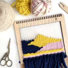 Image for Craft Sunday: Coastal Weaving with Le Petit Moose