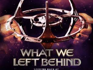 Image for What We Left Behind: Looking Back at Star Trek: Deep Space 9}
