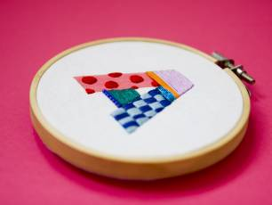 Image for Craft Sunday: Hand Stitched Monograms with Lauren Smith}