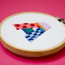 Image for Craft Sunday: Hand Stitched Monograms with Lauren Smith