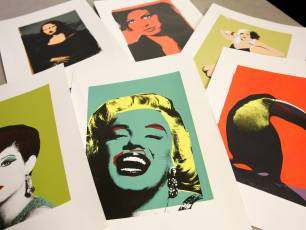 Image for Andy Warhol Class (April)}