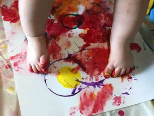 Image for Art at the Start: Messy Play + Creative Sessions (March)}