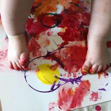 Image for Art at the Start: Messy Play + Creative Sessions (March)