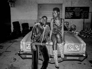 Image for Captioned: Queen & Slim}