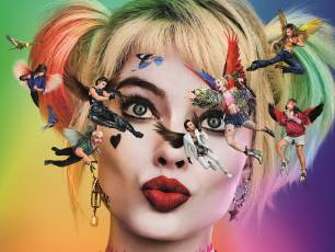 Image for Captioned: Birds of Prey and the Fantabulous Emancipation of One Harley Quinn}