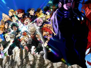 Image for My Hero Academia: Heroes Rising}