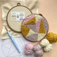 Image for Craft Sunday online: Needle Punching with Le Petit Moose