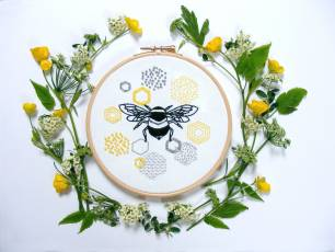 Image for Craft Sunday online: Embroidery with Jenny Blair}