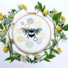 Image for Craft Sunday online: Embroidery with Jenny Blair