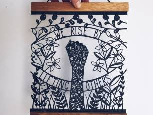 Image for Craft Sunday online: Paper Cutting with Louise McLaren}
