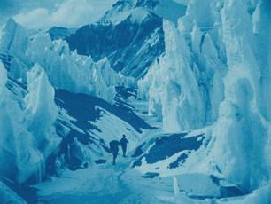 Image for Epic of Everest with live music by Stephen Horne}