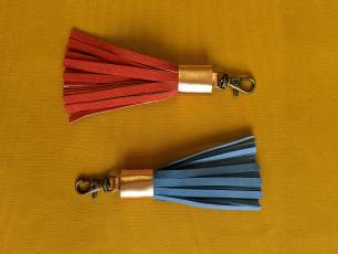 Image for Craft Sunday online: Leather Tassels with Hackley Bags}