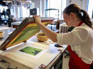 Image for Introduction to Screen Printing}