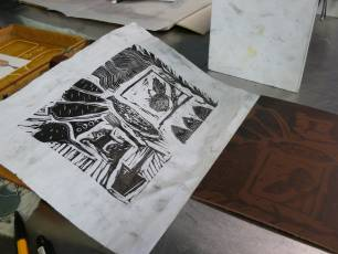 Image for Lino Printing}