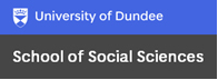 University of Dundee School of Social Sciences logo