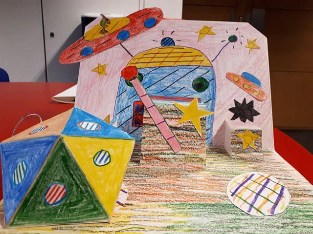 Colourful futuristic dreamscape