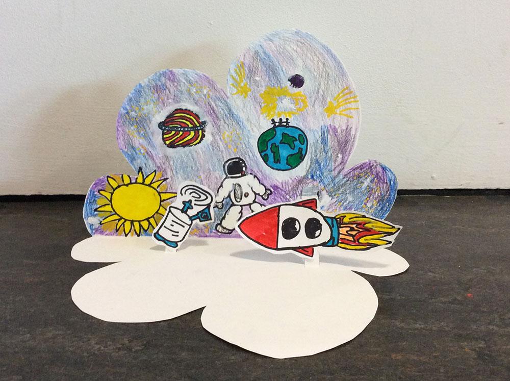 Space dreamscape