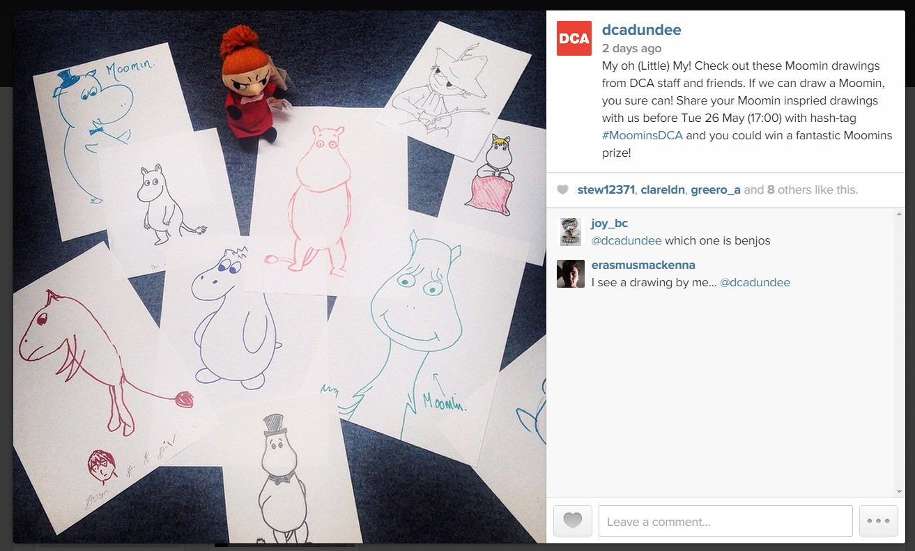You're going mad for the Moomins! - Dundee Contemporary Arts